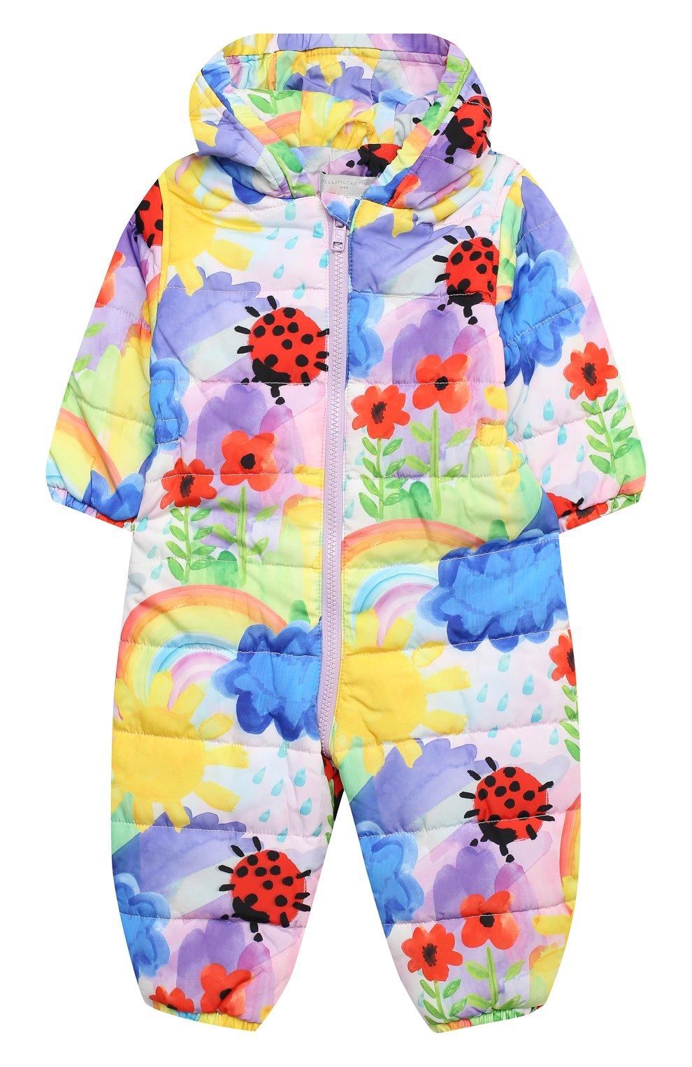 Детского комбинезон STELLA MCCARTNEY разноцветного цвета, арт. 601452/SPKC5   Фото 1