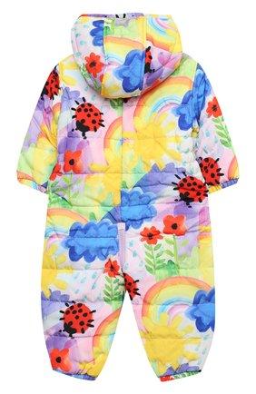 Детского комбинезон STELLA MCCARTNEY разноцветного цвета, арт. 601452/SPKC5 | Фото 2