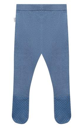 Детские хлопковые ползунки STELLA MCCARTNEY синего цвета, арт. 601005/SPM15 | Фото 2