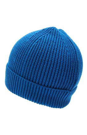 Детского шапка MARCELO BURLON KIDS OF MILAN синего цвета, арт. 20I/B/MB/9101/7072 | Фото 2
