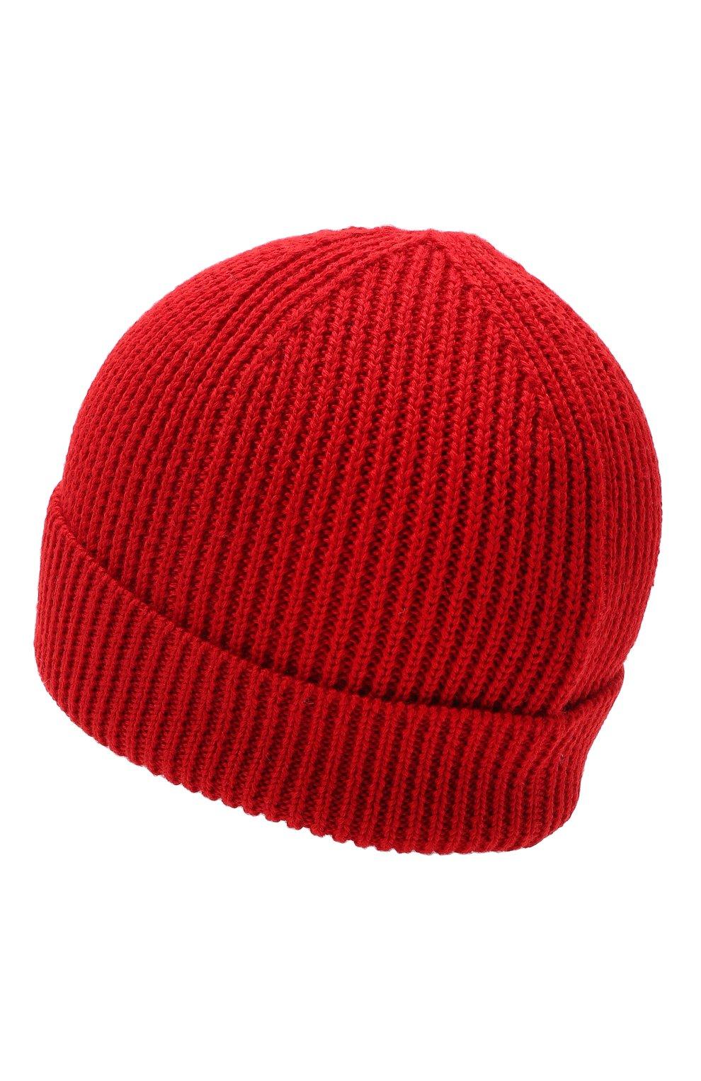 Детского шапка MARCELO BURLON KIDS OF MILAN красного цвета, арт. 20I/B/MB/9101/7072 | Фото 2