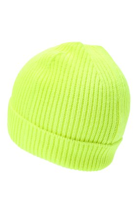 Детского шапка MARCELO BURLON KIDS OF MILAN салатового цвета, арт. 20I/B/MB/9103/8000 | Фото 2