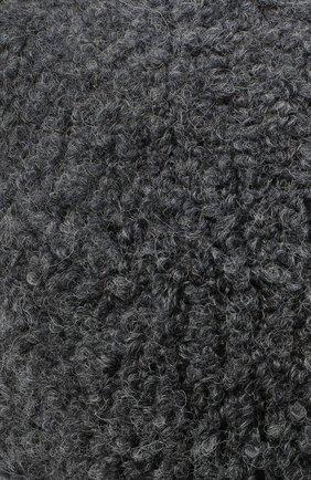 Детского шапка DOUUOD серого цвета, арт. 20I/U/JR/CP05/7060 | Фото 3
