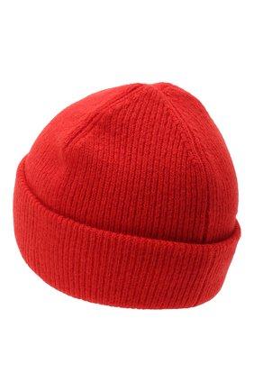 Мужская шерстяная шапка ACNE STUDIOS красного цвета, арт. C40075/M | Фото 2