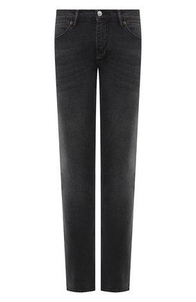 Мужские джинсы ACNE STUDIOS черного цвета, арт. B00159 | Фото 1