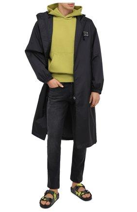 Мужские джинсы ACNE STUDIOS черного цвета, арт. B00159 | Фото 2
