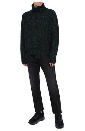 Мужской свитер ACNE STUDIOS черного цвета, арт. B60157 | Фото 2