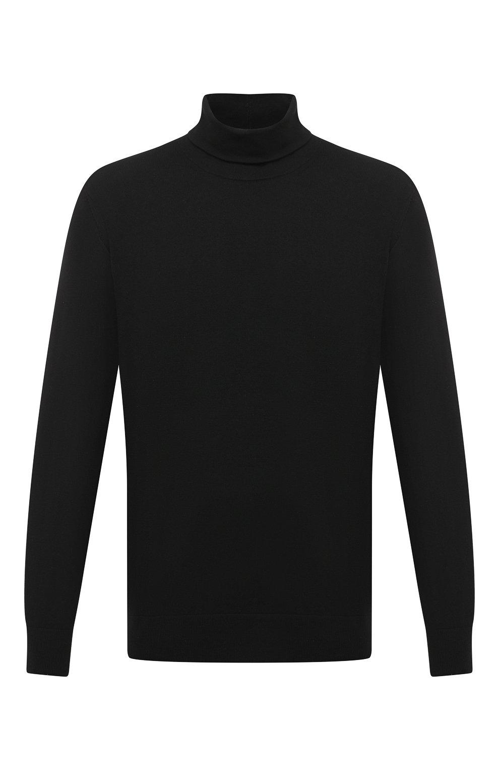 Мужской шерстяная водолазка ACNE STUDIOS черного цвета, арт. B60158   Фото 1