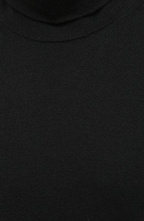 Мужской шерстяная водолазка ACNE STUDIOS черного цвета, арт. B60158   Фото 5