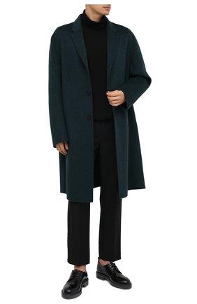 Мужской шерстяное пальто ACNE STUDIOS зеленого цвета, арт. B90467 | Фото 2