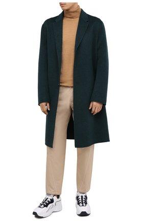 Мужской шерстяное пальто ACNE STUDIOS зеленого цвета, арт. B90467 | Фото 3