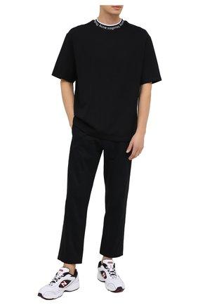 Мужская футболка ACNE STUDIOS черного цвета, арт. BL0221 | Фото 2