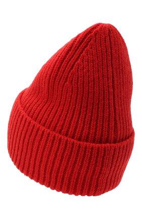 Мужская шерстяная шапка ACNE STUDIOS красного цвета, арт. C40102/M | Фото 2