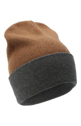 Мужская шерстяная шапка ACNE STUDIOS бежевого цвета, арт. C40108/M | Фото 1