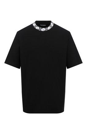 Мужская футболка ACNE STUDIOS черного цвета, арт. CL0072/M | Фото 1
