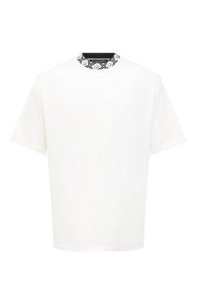 Мужская футболка ACNE STUDIOS белого цвета, арт. CL0072/M | Фото 1