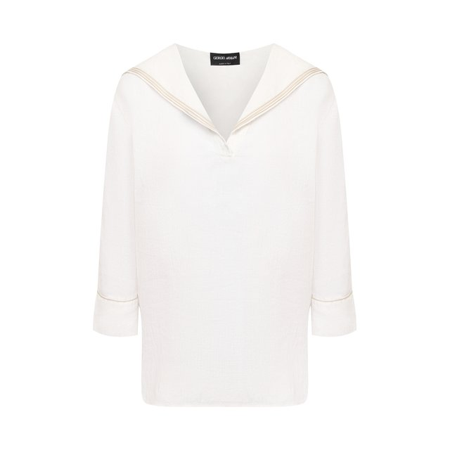 Льняная блузка Giorgio Armani