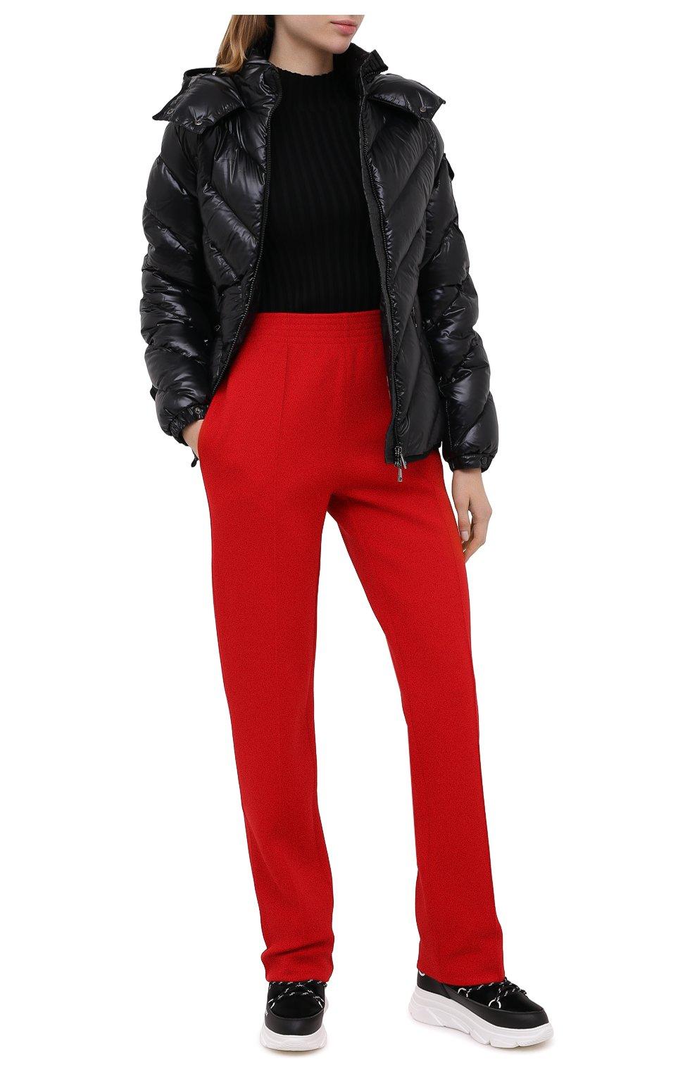 Женские текстильные ботинки F_WD черного цвета, арт. FW33082C/12102 | Фото 2