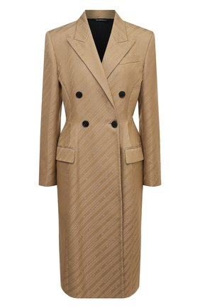 Женское пальто GIVENCHY бежевого цвета, арт. BWC06E12YF   Фото 1