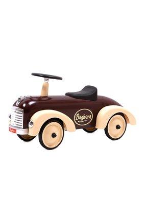 Детского детская машинка speedster BAGHERA коричневого цвета, арт. 884 | Фото 1