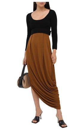 Женское платье из вискозы PROENZA SCHOULER хаки цвета, арт. R2033031-JY068 | Фото 2