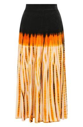 Женская юбка-миди PROENZA SCHOULER оранжевого цвета, арт. R2035019-JYP43 | Фото 1