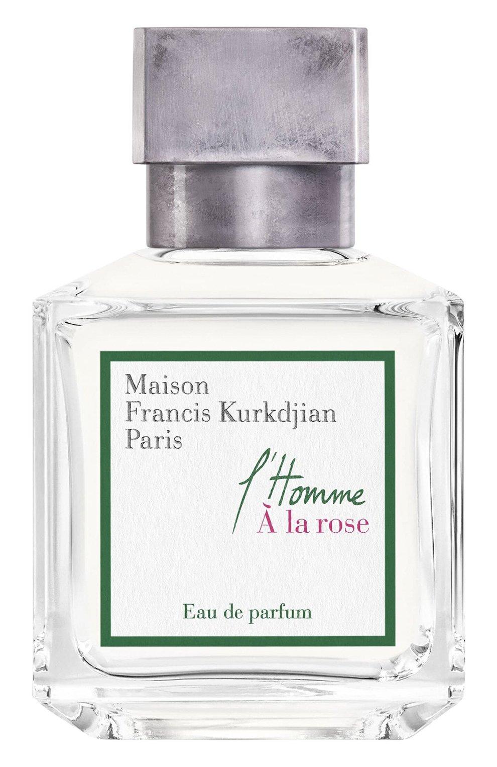 Мужской парфюмерная вода l'homme a la rose MAISON FRANCIS KURKDJIAN бесцветного цвета, арт. 1023102 | Фото 1