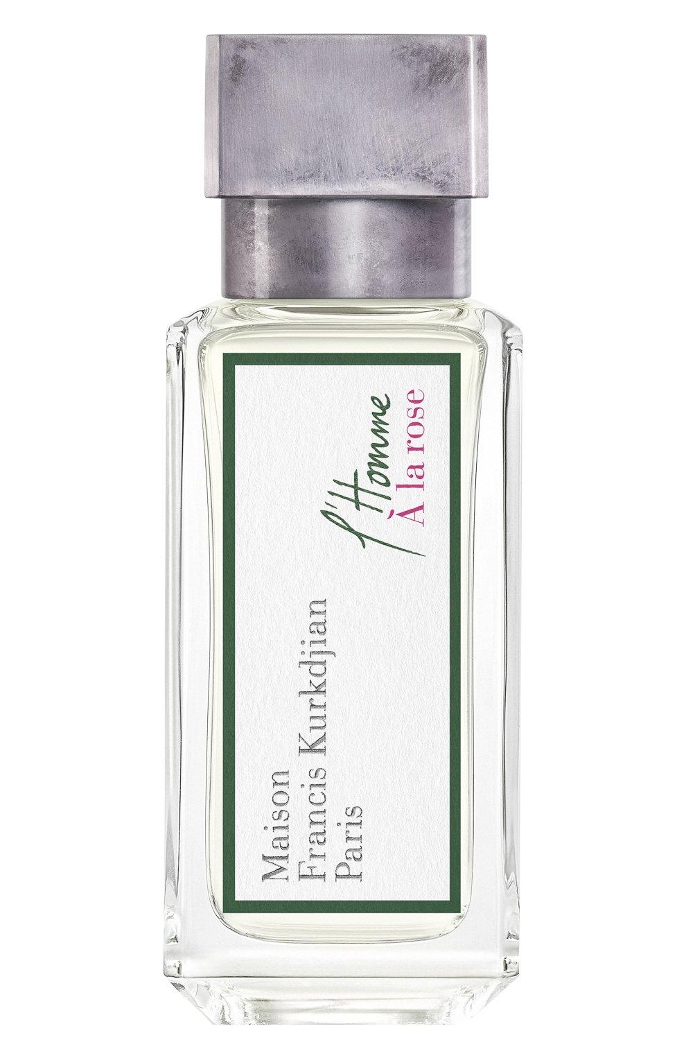 Мужской парфюмерная вода l'homme a la rose MAISON FRANCIS KURKDJIAN бесцветного цвета, арт. 1023108   Фото 1