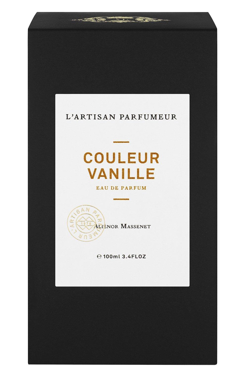 Женский парфюмерная вода couleur vanille L'ARTISAN PARFUMEUR бесцветного цвета, арт. 3660463006208 | Фото 2