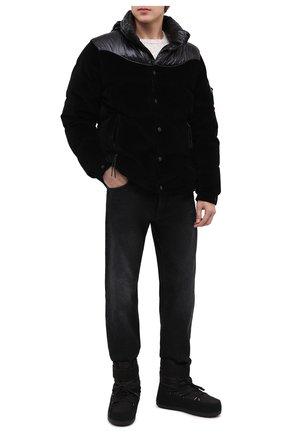 Мужские текстильные сапоги BOGNER черного цвета, арт. 303-5114/DAV0S 3B | Фото 2