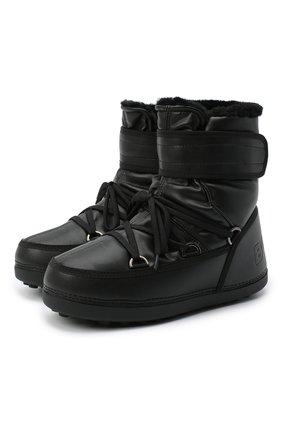 Мужские сапоги BOGNER черного цвета, арт. 303-5118/DAV0S 3D | Фото 1