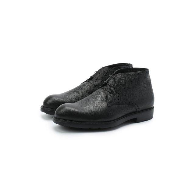Кожаные ботинки Moreschi