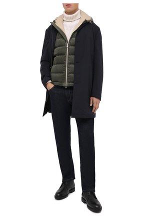 Мужские кожаные ботинки MORESCHI черного цвета, арт. 43248/SD/ADRIA/F.PELLICCIA | Фото 2