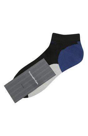 Мужские носки ERMENEGILDO ZEGNA разноцветного цвета, арт. N5V023600 | Фото 1