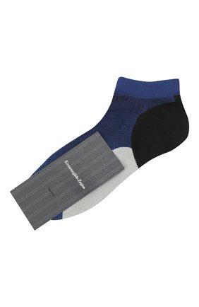 Мужские носки ERMENEGILDO ZEGNA синего цвета, арт. N5V023600 | Фото 1