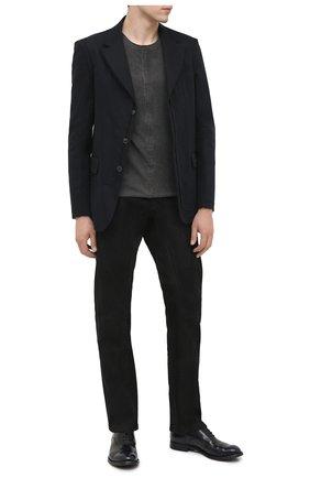 Мужские кожаные оксфорды OFFICINE CREATIVE темно-синего цвета, арт. ANAT0MIA/15/0LD BUFAL0 | Фото 2