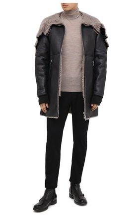 Мужские кожаные сапоги OFFICINE CREATIVE черного цвета, арт. CHR0NICLE/007/IGNIS | Фото 2