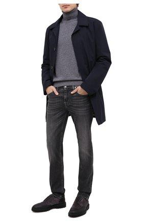 Мужской комбинированные дерби H`D`S`N BARACCO серого цвета, арт. 80205.B.2* | Фото 2