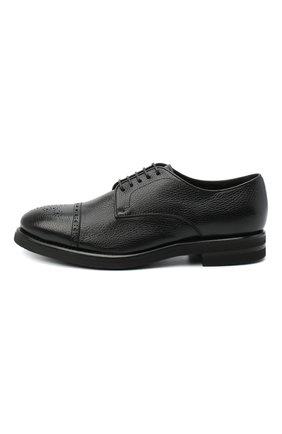 Мужские кожаные дерби H`D`S`N BARACCO черного цвета, арт. 80213.M.2* | Фото 3