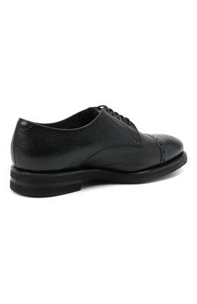 Мужские кожаные дерби H`D`S`N BARACCO черного цвета, арт. 80213.M.2* | Фото 4