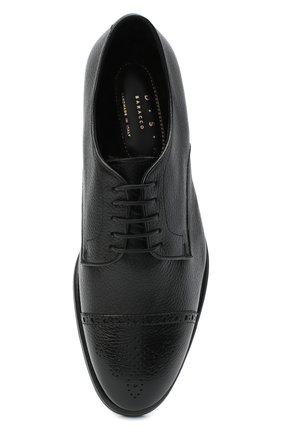 Мужские кожаные дерби H`D`S`N BARACCO черного цвета, арт. 80213.M.2* | Фото 5