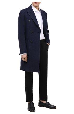 Мужские кожаные пенни-лоферы H`D`S`N BARACCO темно-синего цвета, арт. 80423.C.1* | Фото 2