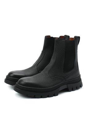 Мужские кожаные челси H`D`S`N BARACCO черного цвета, арт. 80505.NN.0* | Фото 1