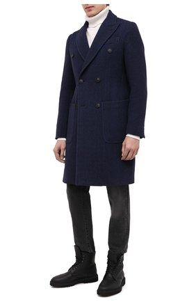 Мужские кожаные ботинки H`D`S`N BARACCO черного цвета, арт. 80506.BM.0* | Фото 2