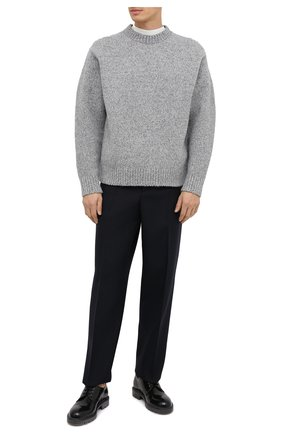 Мужской кожаные дерби OFF-WHITE черного цвета, арт. 0MIA183E20LEA0011055 | Фото 2