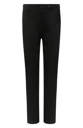 Мужской кожаные брюки ISAAC SELLAM черного цвета, арт. HED0NISTE-STRETCH H21 | Фото 1