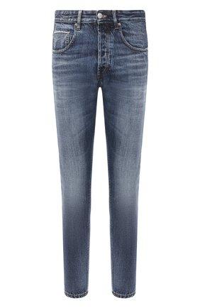 Мужские джинсы DON THE FULLER синего цвета, арт. DHW0/B0ST0N/DTF/KA73 | Фото 1