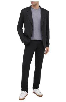 Мужской шерстяной пиджак GIVENCHY серого цвета, арт. BM308D30HT | Фото 2