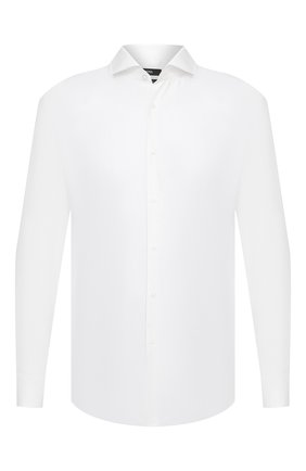 Мужская хлопковая сорочка BOSS белого цвета, арт. 50439143 | Фото 1