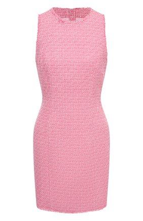 Женское платье BALMAIN розового цвета, арт. UF16104/C257 | Фото 1